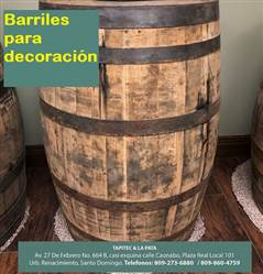 Barrilles de Roble para Decoración