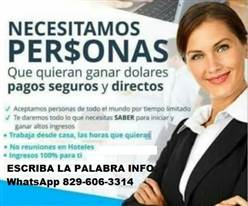Oferta de empleo en el área de Marketing en Santo Domingo, República Dominicana,