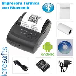 MINI- IMPRESORA TÉRMICA-  BLUETOOTH