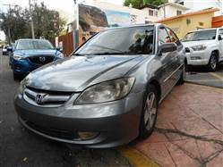 Automovil Honda Civic EX 2005 Gris